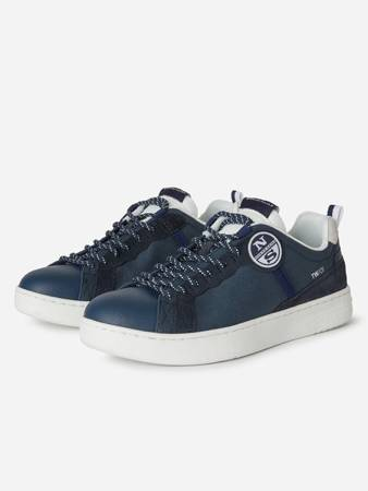 Buty męskie North Sails CANVAS AND SUEDE SNEAKERS