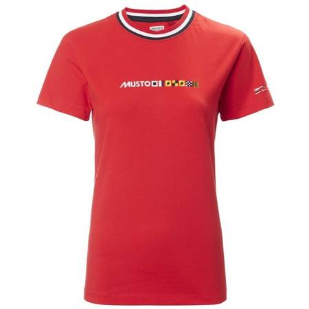 Koszulka damska MUSTO FLAGS TEE T-SHIRT