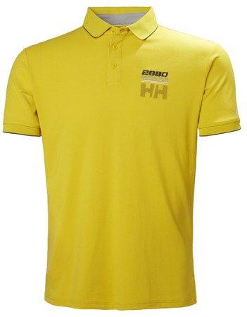 Polo HELLY HANSEN HP RACING 53012 TACTEL żółty