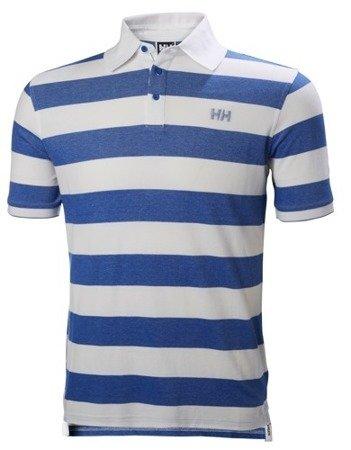 Polo HELLY HANSEN MARSTRAND 53022 biało niebieskie