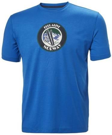 T-shirt męski HELLY HANSEN SKOG GRAPHIC 62856 611